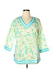 Gretchen Scott Designs 3/4 Sleeve Blouse