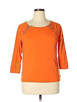 Lauren Jeans Co. 3/4 Sleeve Top Size XL