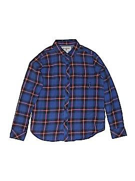 Billabong Long Sleeve Button-Down Shirt Size S (Youth)