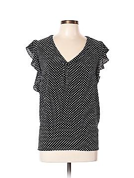 Philosophy Republic Clothing Short Sleeve Blouse Size L