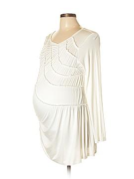 Maternal America 3/4 Sleeve Blouse Size L (Maternity)