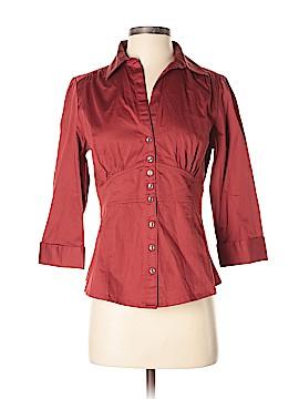 Banana Republic Factory Store 3/4 Sleeve Button-Down Shirt Size 4
