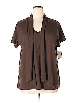 Croft & Barrow Short Sleeve Top Size 1X (Plus)
