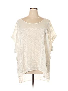 Lane Bryant Short Sleeve Blouse Size 26 Plus (7) (Plus)