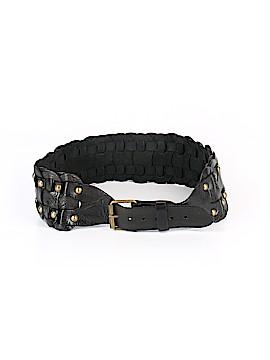 Motif 56 Leather Belt Size S