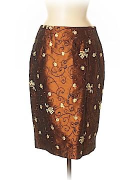 Etcetera Silk Skirt Size 6