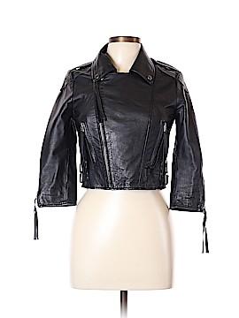 ASOS Leather Jacket Size 10