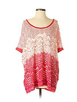 BCBGMAXAZRIA Silk Pullover Sweater One Size