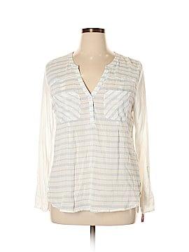 Merona Long Sleeve Henley Size XL