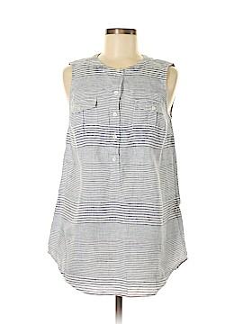 Vineyard Vines Sleeveless Button-Down Shirt Size 6
