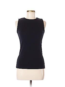 Rosette Sleeveless T-Shirt Size M