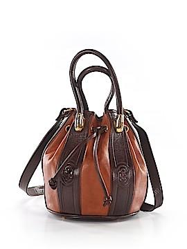 Marino Orlandi Leather Bucket Bag One Size