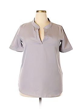 Finejo Short Sleeve Blouse Size XL