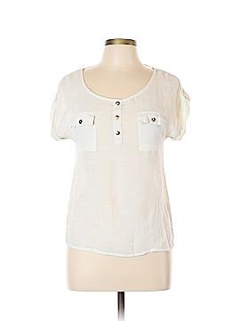 Mine Short Sleeve Blouse Size L