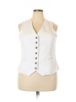 DG^2 by Diane Gilman Tuxedo Vest Size XL
