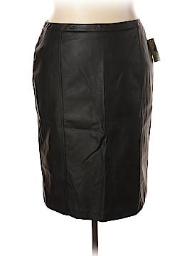 Worthington Faux Leather Skirt Size 18 (Plus)
