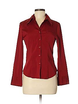 Antilia Femme Long Sleeve Button-Down Shirt Size M