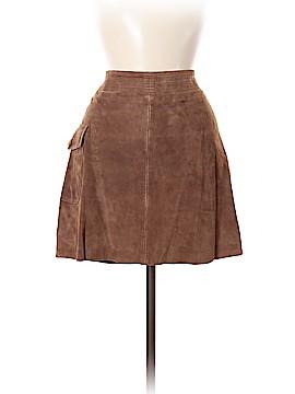 J. Crew Leather Skirt Size 6