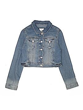 Justice Denim Jacket Size 14