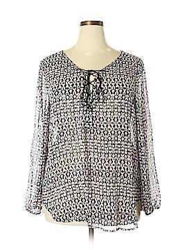 Jessica Simpson Long Sleeve Blouse Size 3X (Plus)