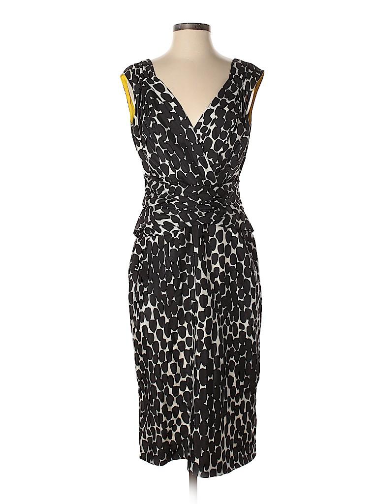 30a847238d6 Gucci 100% Silk Print Black Casual Dress Size 44 (IT) - 80% off ...
