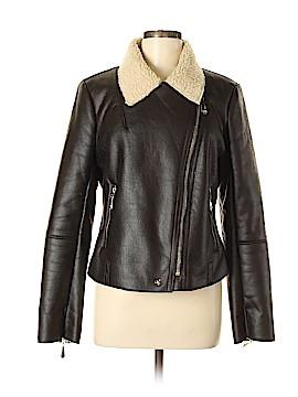Sam Edelman Faux Leather Jacket Size M