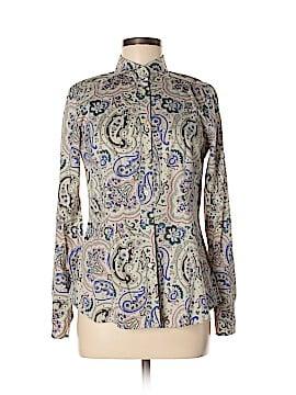 ETRO Long Sleeve Button-Down Shirt Size 42 (IT)