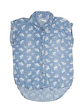 Epic Threads Short Sleeve Button-Down Shirt Size S (Kids)