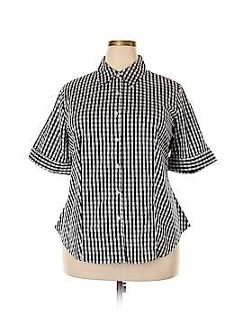 Jessica London 3/4 Sleeve Button-Down Shirt Size 18 - 20 (Plus)