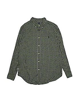 Ralph by Ralph Lauren Long Sleeve Button-Down Shirt Size 14 - 16