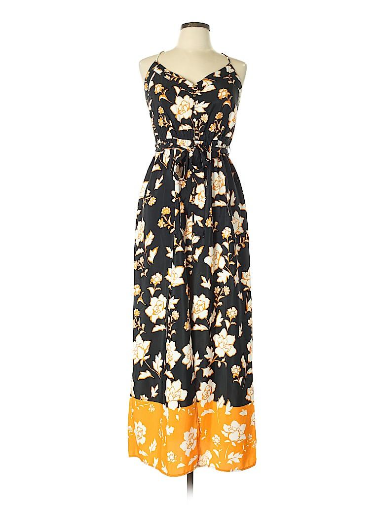9aeaf9cbf16294 River Island Floral Black Casual Dress Size 14 (UK) - 50% off | thredUP
