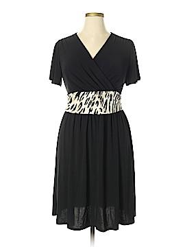 Nina Leonard Casual Dress Size 1X (Plus)