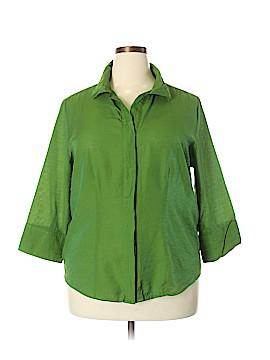 Joanna Plus 3/4 Sleeve Blouse Size 1X (Plus)