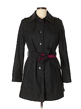 DKNY Wool Coat Size 14 (Petite)