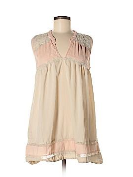 Fleurette Short Sleeve Blouse Size M