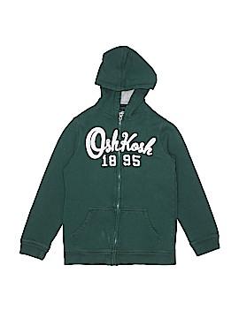 OshKosh B'gosh Zip Up Hoodie Size 12