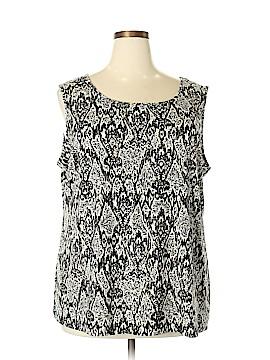 IMAN Sleeveless Blouse Size 3X (Plus)