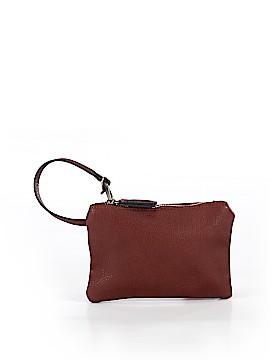 Street Level Leather Wristlet One Size