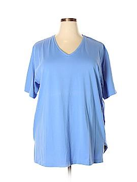 Ulla Popken Short Sleeve T-Shirt Size 24 - 26 (Plus)