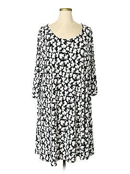 Nina Leonard Casual Dress Size 3X (Plus)