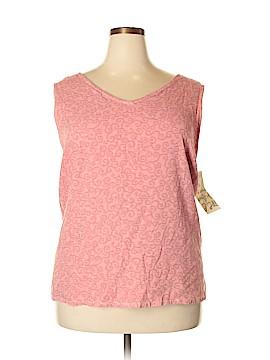 J.jill Sleeveless Blouse Size 4X (Plus)
