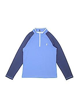Johnnie-O Track Jacket Size 8