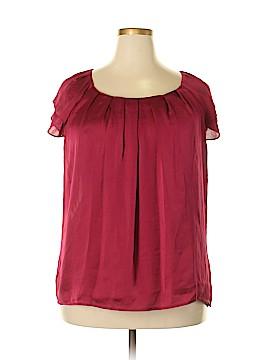 DressBarn Short Sleeve Blouse Size 18 (Plus)