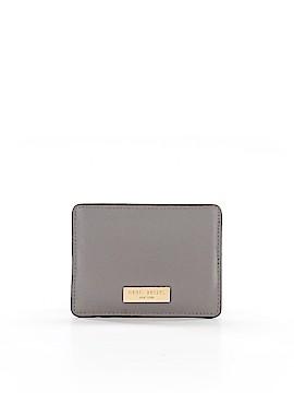 Henri Bendel Leather Card Holder One Size