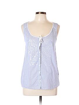 J. Crew Sleeveless Button-Down Shirt Size 10