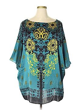 Marina Rinaldi 3/4 Sleeve Silk Top Size 16 (25)