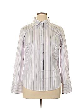 Ann Taylor Factory Long Sleeve Button-Down Shirt Size 14