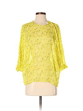 Giambattista Valli 3/4 Sleeve Silk Top Size 40 (IT)