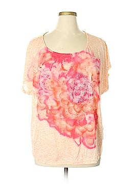 CB Short Sleeve Blouse Size 3X (Plus)