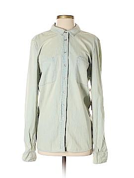 CALVIN KLEIN JEANS Long Sleeve Button-Down Shirt Size XL